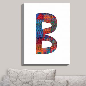 Decorative Canvas Wall Art | Dora Ficher - Alphabet Letter B