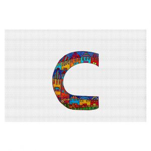 Decorative Floor Coverings | Dora Ficher Alphabet Letter C