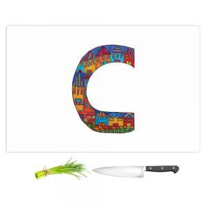 Artistic Kitchen Bar Cutting Boards | Dora Ficher - Alphabet Letter C