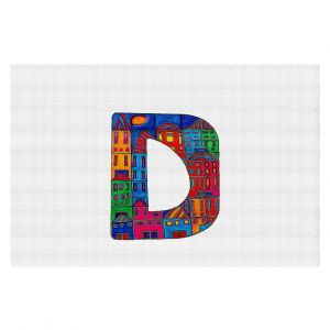Decorative Floor Coverings | Dora Ficher Alphabet Letter D