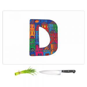 Artistic Kitchen Bar Cutting Boards | Dora Ficher - Alphabet Letter D