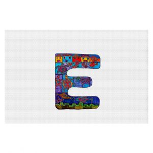 Decorative Floor Coverings | Dora Ficher Alphabet Letter E