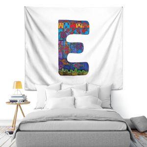 Artistic Wall Tapestry | Dora Ficher Alphabet Letter E