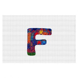 Decorative Floor Coverings | Dora Ficher Alphabet Letter F