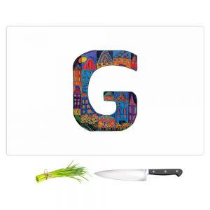 Artistic Kitchen Bar Cutting Boards | Dora Ficher - Alphabet Letter G