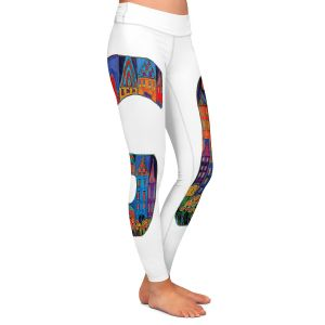 Casual Comfortable Leggings | Dora Ficher Alphabet Letter G