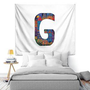 Artistic Wall Tapestry | Dora Ficher Alphabet Letter G