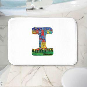 Decorative Bathroom Mats   Dora Ficher - Alphabet Letter I