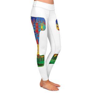 Casual Comfortable Leggings | Dora Ficher Alphabet Letter I