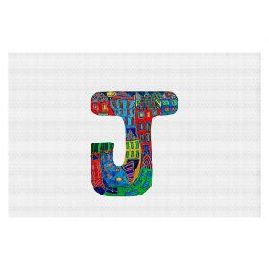 Decorative Floor Coverings | Dora Ficher Alphabet Letter J