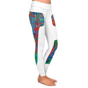 Casual Comfortable Leggings | Dora Ficher Alphabet Letter J