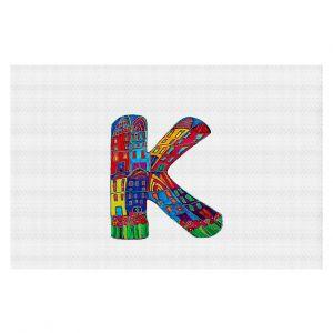 Decorative Floor Coverings | Dora Ficher Alphabet Letter K