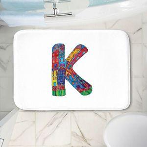 Decorative Bathroom Mats   Dora Ficher - Alphabet Letter K