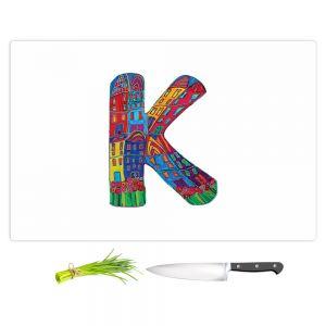 Artistic Kitchen Bar Cutting Boards | Dora Ficher - Alphabet Letter K