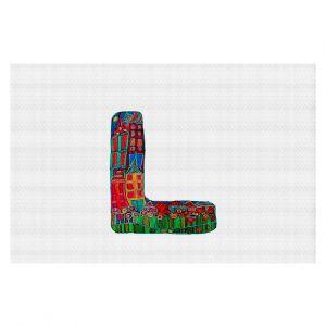 Decorative Floor Coverings | Dora Ficher Alphabet Letter L