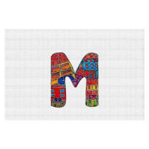 Decorative Floor Coverings | Dora Ficher Alphabet Letter M