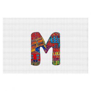 Decorative Floor Coverings | Dora Ficher Alphabet Letter M