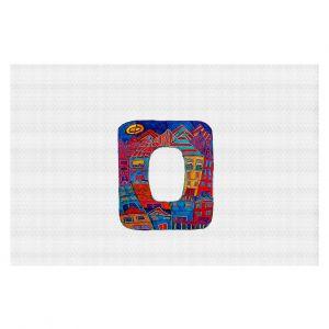 Decorative Floor Coverings | Dora Ficher Alphabet Letter O