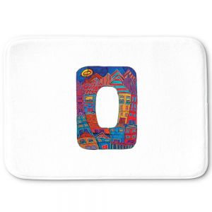 Decorative Bathroom Mats | Dora Ficher - Alphabet Letter O