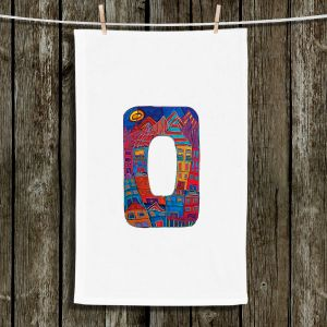 Unique Bathroom Towels | Dora Ficher - Alphabet Letter O