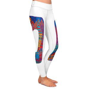 Casual Comfortable Leggings | Dora Ficher Alphabet Letter O