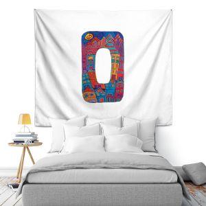 Artistic Wall Tapestry | Dora Ficher Alphabet Letter O