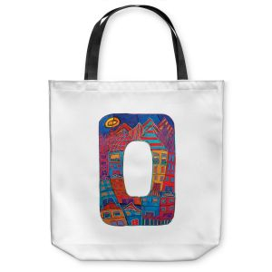 Unique Shoulder Bag Tote Bags | Dora Ficher Alphabet Letter O