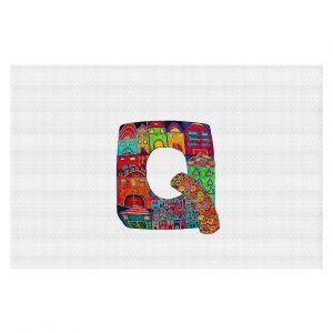 Decorative Floor Coverings | Dora Ficher Alphabet Letter Q
