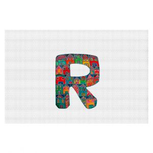 Decorative Floor Coverings | Dora Ficher Alphabet Letter R