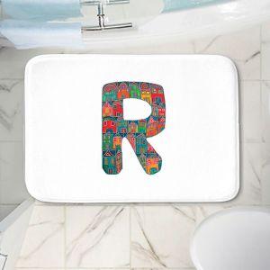Decorative Bathroom Mats   Dora Ficher - Alphabet Letter R