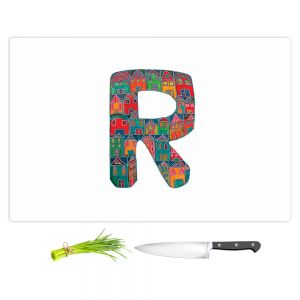 Artistic Kitchen Bar Cutting Boards | Dora Ficher - Alphabet Letter R