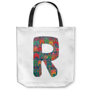 Unique Shoulder Bag Tote Bags | Dora Ficher Alphabet Letter R