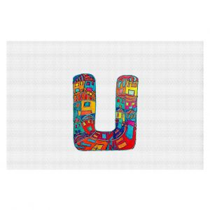 Decorative Floor Coverings | Dora Ficher Alphabet Letter U