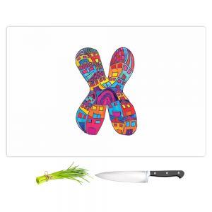 Artistic Kitchen Bar Cutting Boards | Dora Ficher - Alphabet Letter X