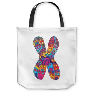Unique Shoulder Bag Tote Bags | Dora Ficher Alphabet Letter X