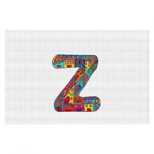 Decorative Floor Coverings | Dora Ficher Alphabet Letter Z