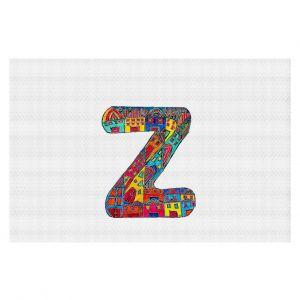 Decorative Floor Coverings | Dora Ficher Alphabet Letter Z
