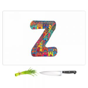 Artistic Kitchen Bar Cutting Boards | Dora Ficher - Alphabet Letter Z