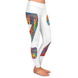 Casual Comfortable Leggings | Dora Ficher Alphabet Letter Z