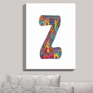 Decorative Canvas Wall Art | Dora Ficher - Alphabet Letter Z