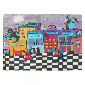 Countertop Place Mats | Dora Ficher - Bailando el Tango | city dancing street