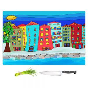 Artistic Kitchen Bar Cutting Boards | Dora Ficher - Condo Peace | Building City Urban