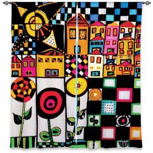 Decorative Window Treatments | Dora Ficher Doodle Day