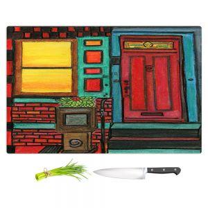 Artistic Kitchen Bar Cutting Boards | Dora Ficher - Door 888 | Scene architecture window setting