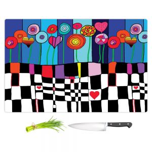 Artistic Kitchen Bar Cutting Boards | Dora Ficher - Happiness