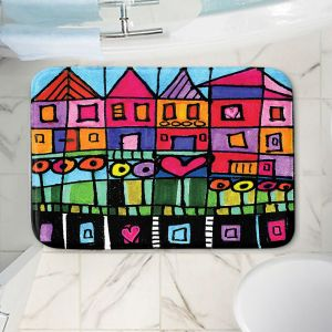 Decorative Bathroom Mats | Dora Ficher - Happy Town