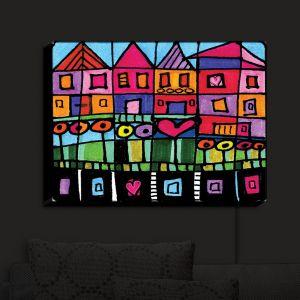 Nightlight Sconce Canvas Light | Dora Ficher's Happy Town