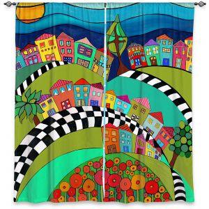 Decorative Window Treatments | Dora Ficher - Hilltop | City Neighborhood