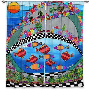 Decorative Window Treatments | Dora Ficher - Las Colinas | City Neighborhood Fish