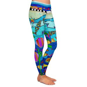 Casual Comfortable Leggings | Dora Ficher - LIttle Houses By the Sea